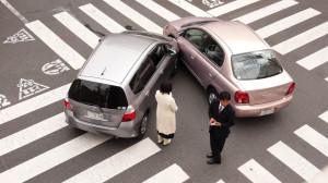 Wypadek drogowy w UK