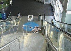 Wypadek w miejscu publicznym w UK